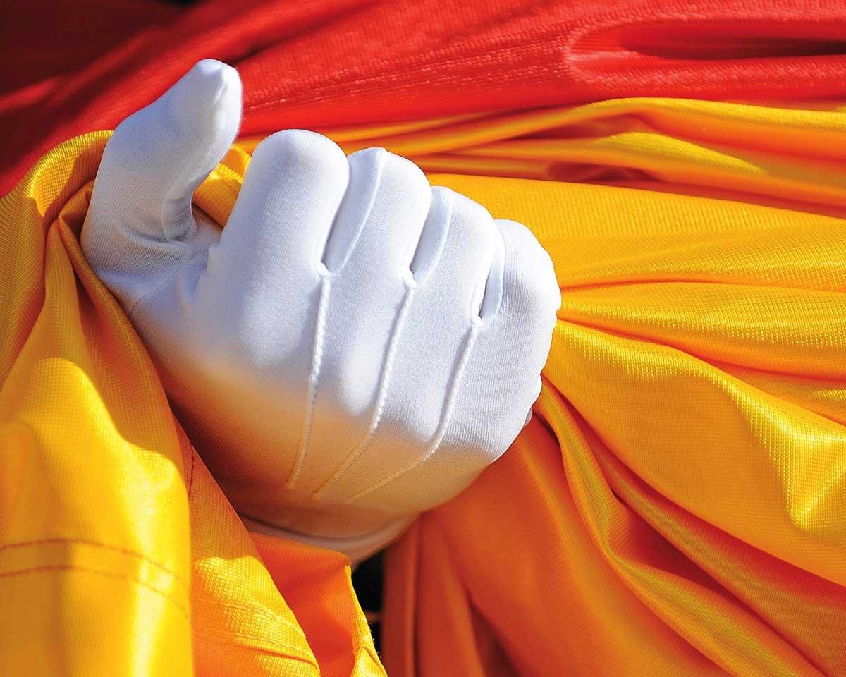 Bandera de España. Granapol es una academia para la preparación en exclusiva de oposiciones a Policía Nacional y Guardia Civil en Granada, Almería, Málaga, Jaén, Andalucía.