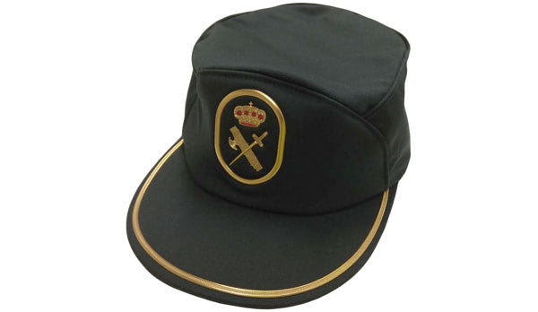 Gorra de uniforme de la Guardia Civil