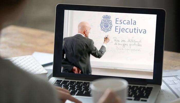 Formación online clases virtuales en tiempo real para Policía Nacional escala ejecutiva
